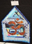"This is Andrea's entry! ""Om is Where the Quilt Is"""